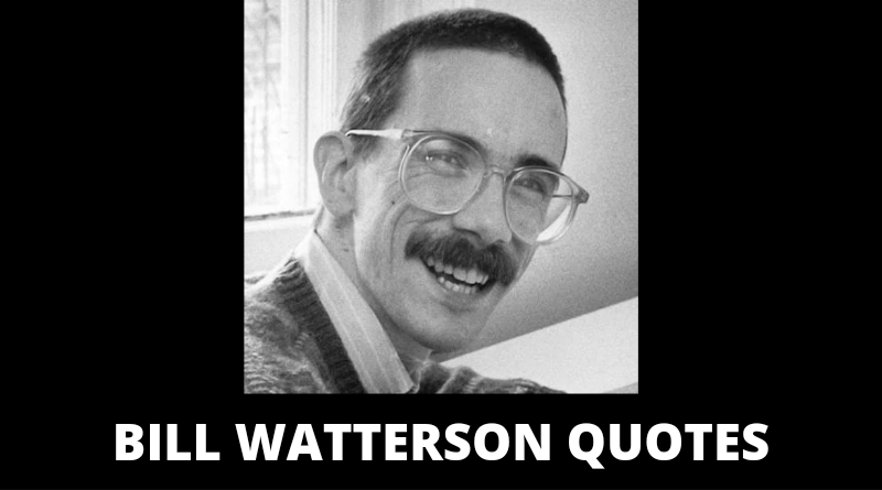Bill Watterson quotes featured