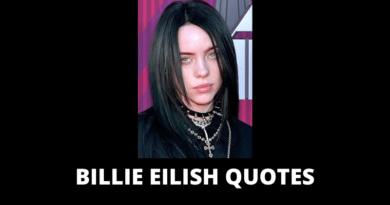 Billie Eilish quotes featured