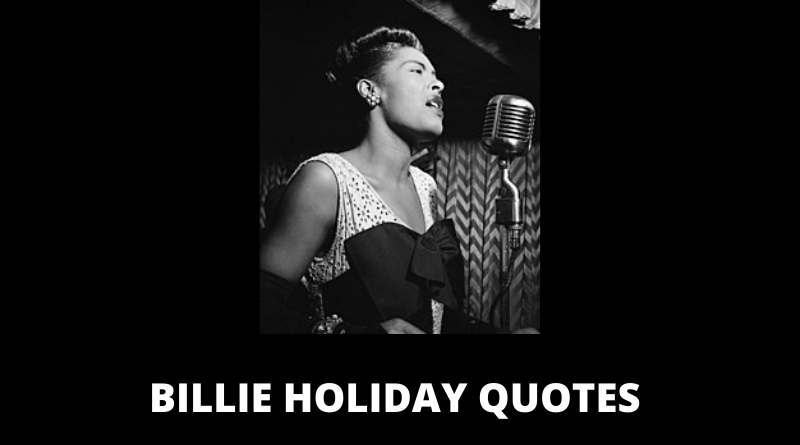 Billie Holiday Quotes featured