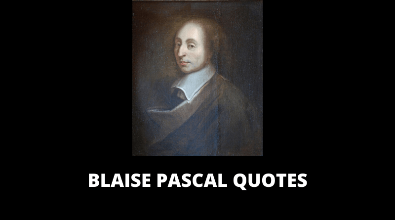 Blaise Pascal Quotes featured