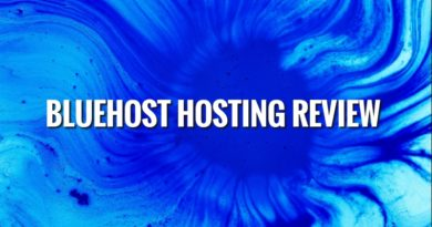 Bluehost Shared Hosting Plans