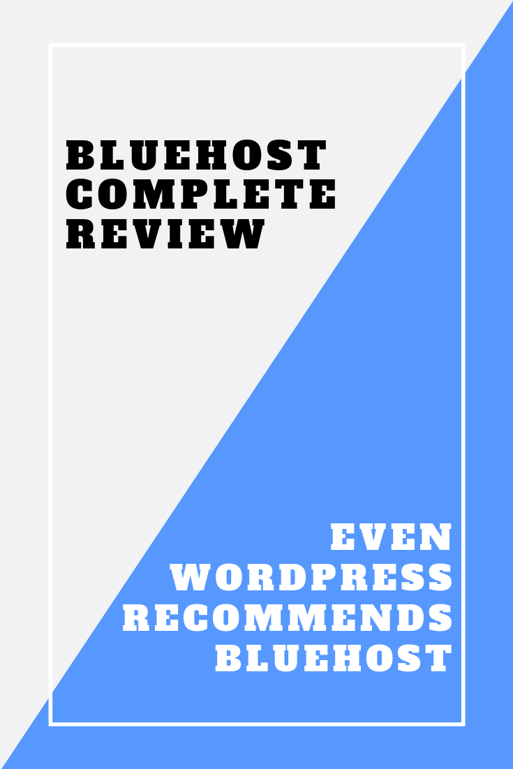 Bluehost Shared Hosting Plans review