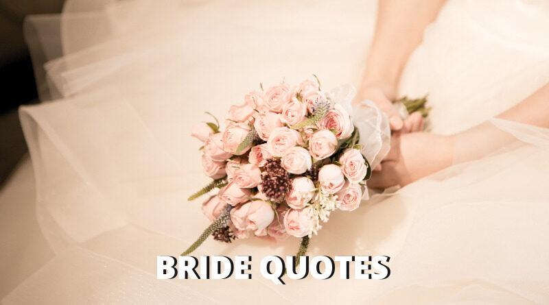 Bride Quotes Featured