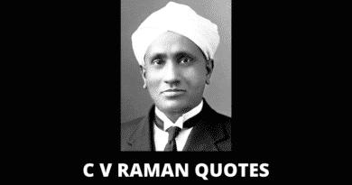 Inspirational C V Raman Quotes