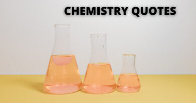 CHEMISTRY QUOTES FEATURE