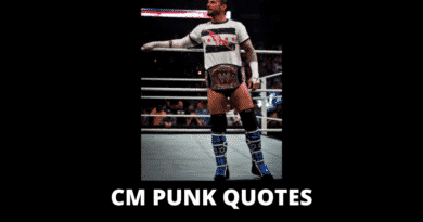 Motivational CM Punk Quotes