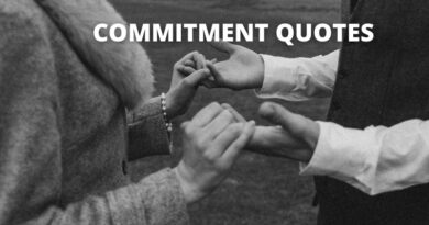 COMMITMENT QUOTES FEATURE