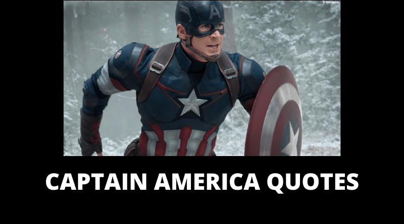 Captain America Quotes featured