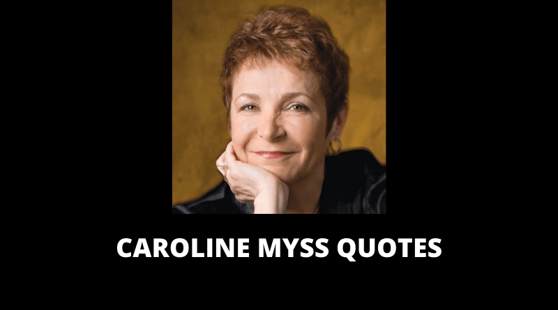 Caroline Myss Quotes featured