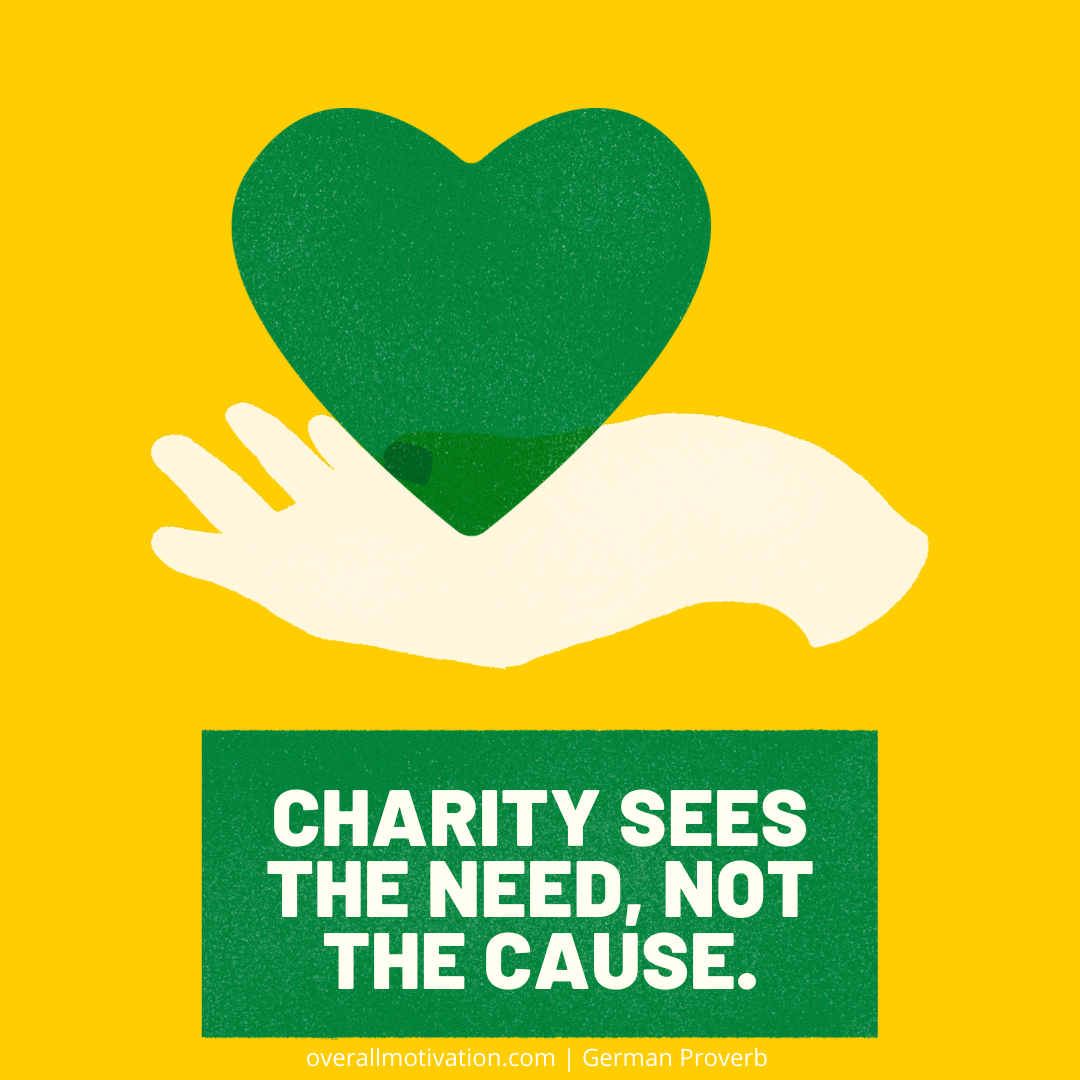 Charity sees the need