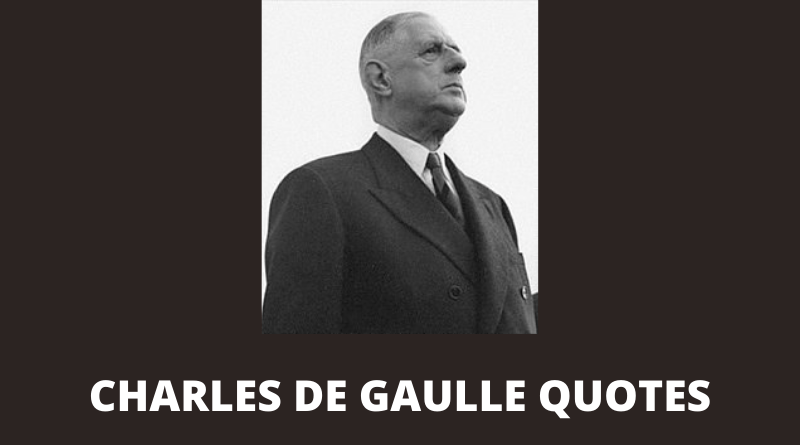 Charles de Gaulle Quotes featured