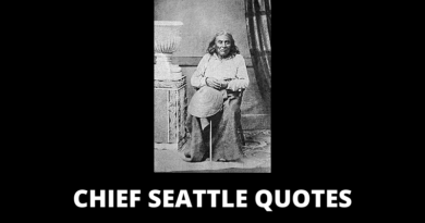 Chief Seattle Quotes featured