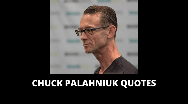 Chuck Palahniuk Quotes featured