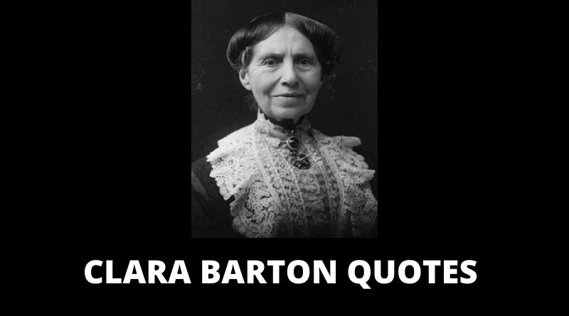 Clara Barton quotes featured