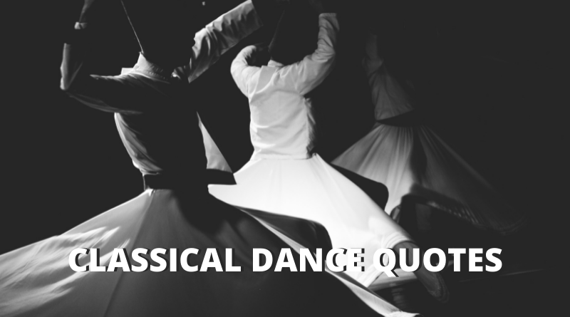 Classical Dance Quotes featured