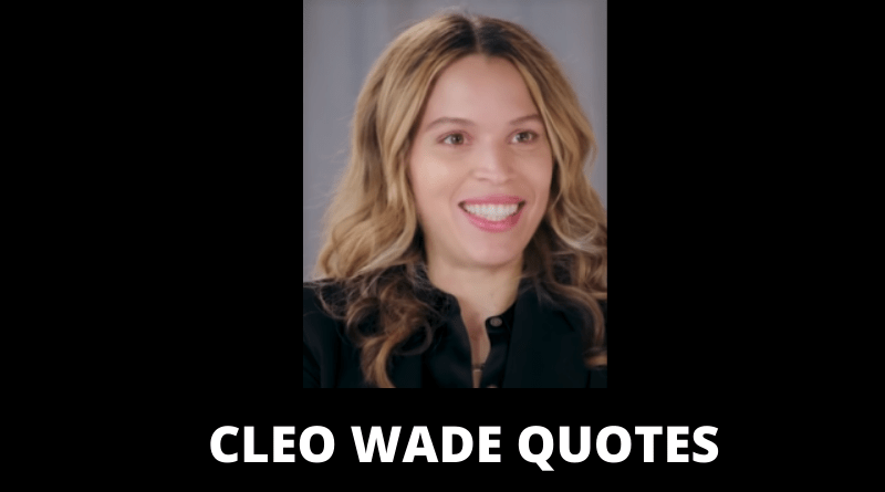 Cleo Wade quotes featured