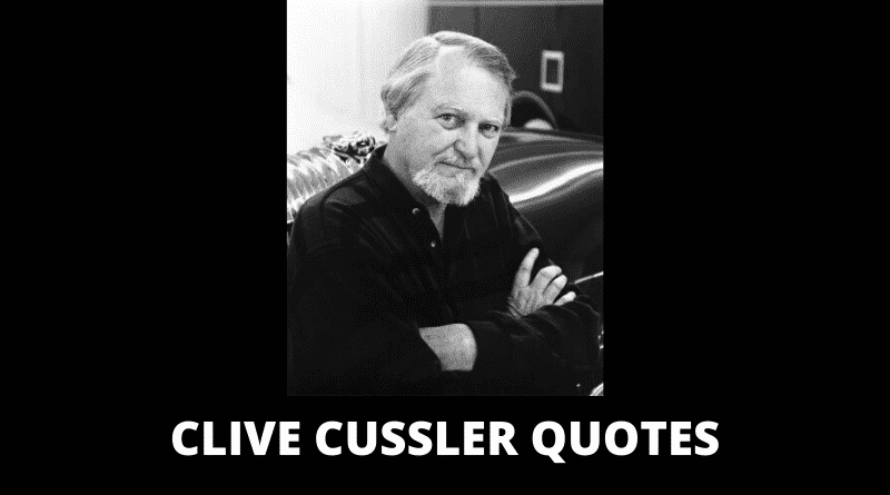 Inspirational Clive Cussler Quotes