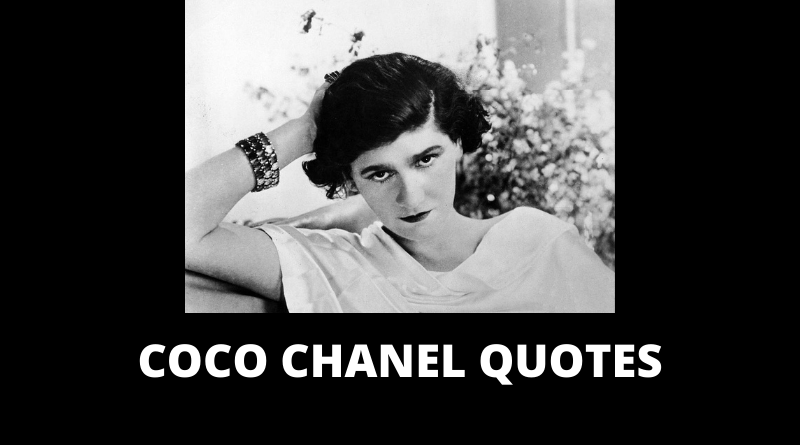 Coco Chanel Quotes featured