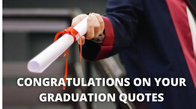 Congratulations Graduation Quotes Featured