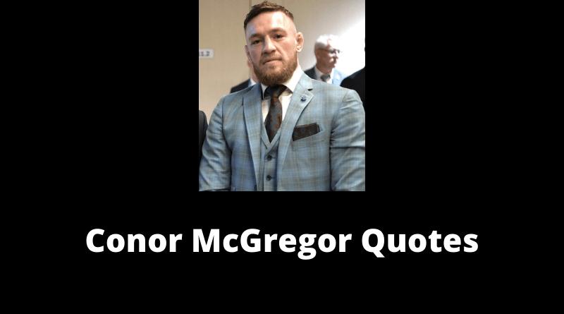 Conor McGregor quotes featured