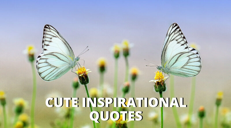 Cute Inspirational Quotes Featured