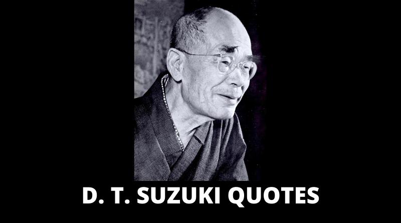 D T Suzuki Quotes Featured