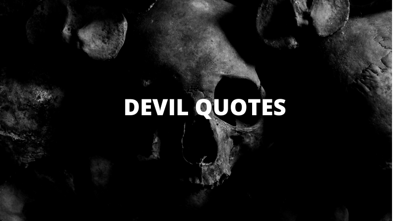 DEVIL QUOTES FEATURE