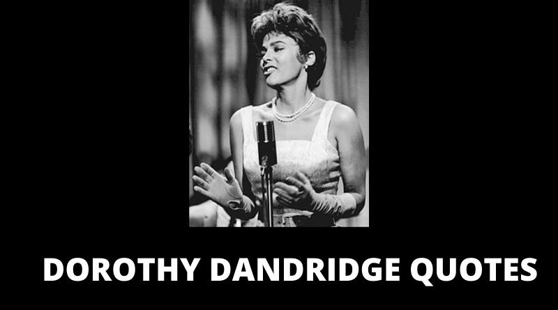 DOROTHY DANDRIDGE QUOTES FEATURED