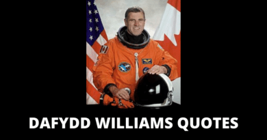 Dafydd Williams Quotes featured