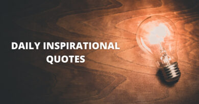 Daily Inspirational Quotes Featured
