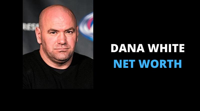 Dana White net worth featured