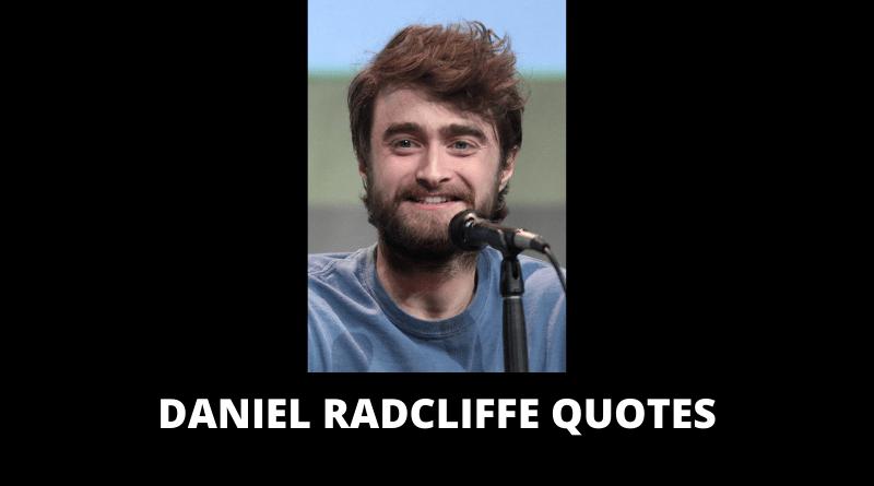 Daniel Radcliffe Quotes featured