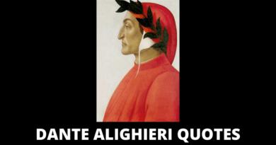 Dante Alighieri Quotes featured