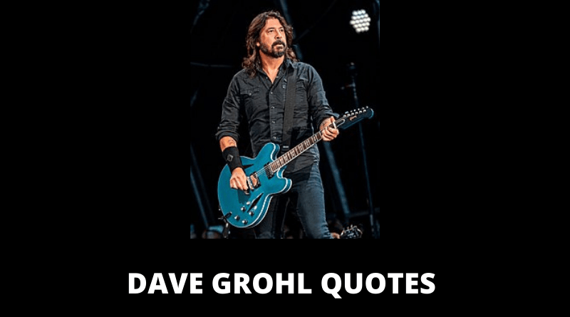 Dave Grohl Quotes featured