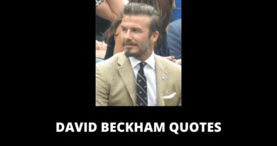 David Beckham Quotes featured