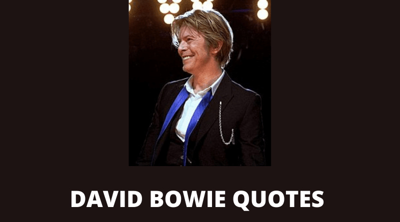 David Bowie quotes featured
