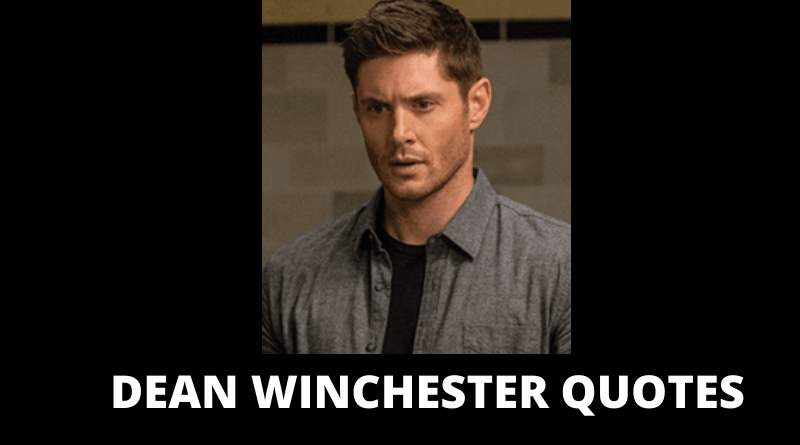 Dean Winchester Quotes Featured