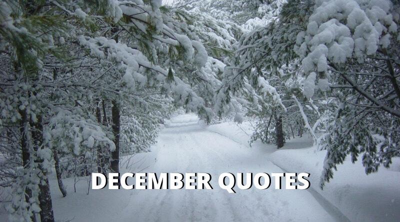 December Quotes Featured