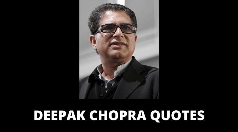 Deepak Chopra quotes featured