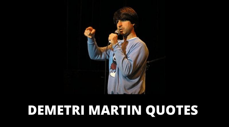Demetri Martin quotes featured