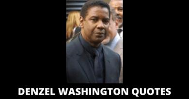 Denzel Washington Quotes featured