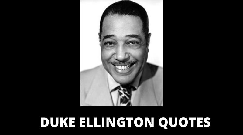 Duke Ellington quotes featured
