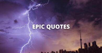 EPIC QUOTES featured