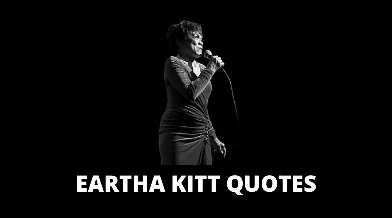 Eartha Kitt quotes featured