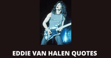 Eddie Van Halen quotes featured