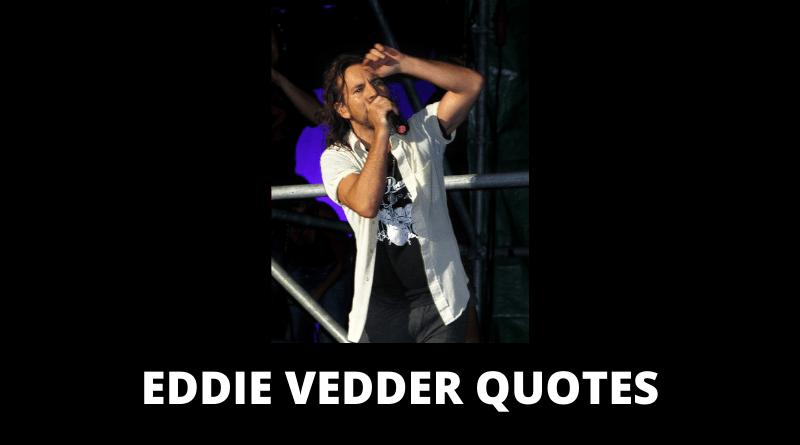 Eddie Vedder Quotes featured