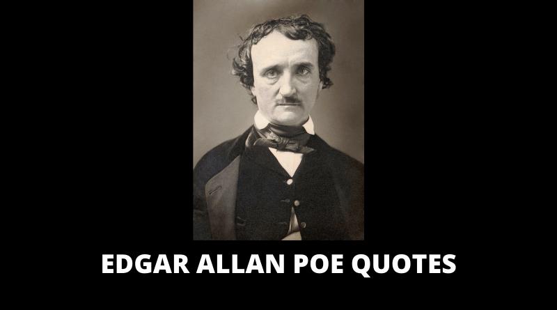 Edgar Allan Poe Quotes featured