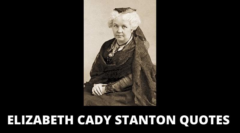 Elizabeth Cady Stanton quotes featured