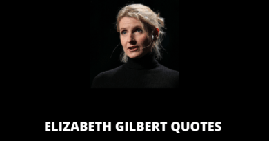 Elizabeth Gilbert Quotes featured