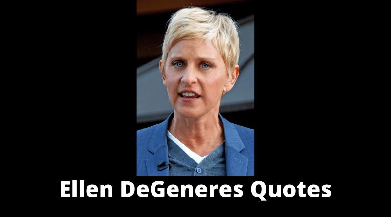 Ellen DeGeneres Quotes featured